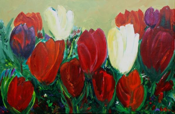 101-tulpencompositie