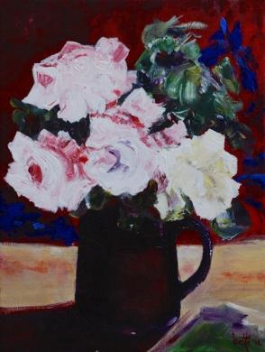 225 - Stil leven met rozen