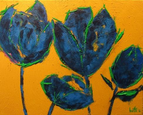 180 - Imaginaire Blauwe Tulp